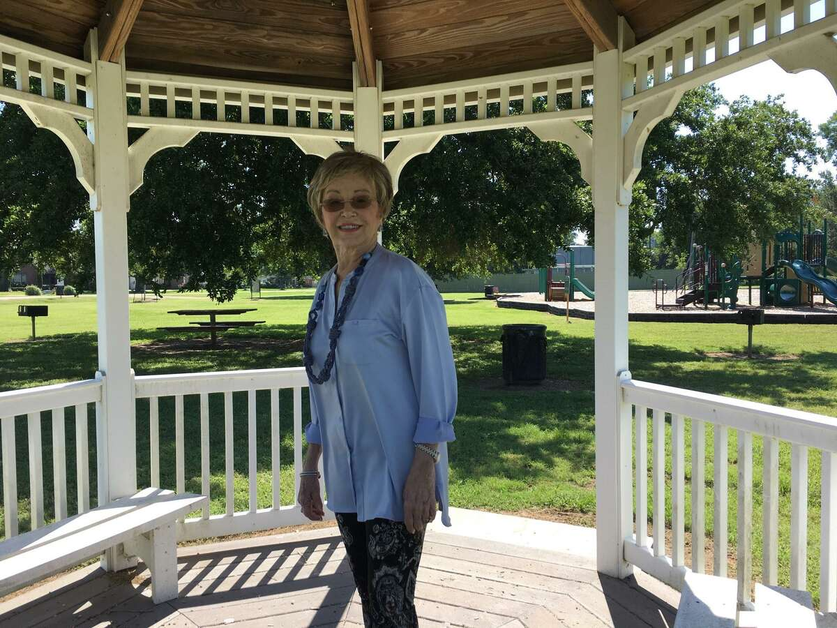 Riverwood Park in Weston Lakes benefited from volunteer work done through Keep Weston Lakes Beautiful, saidNancy Chancellor Case.