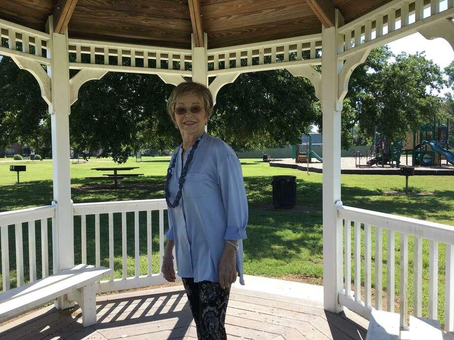 Riverwood Park in Weston Lakes benefited from volunteer work done through Keep Weston Lakes Beautiful, saidNancy Chancellor Case. Photo: Karen Zurawski / Karen Zurawski