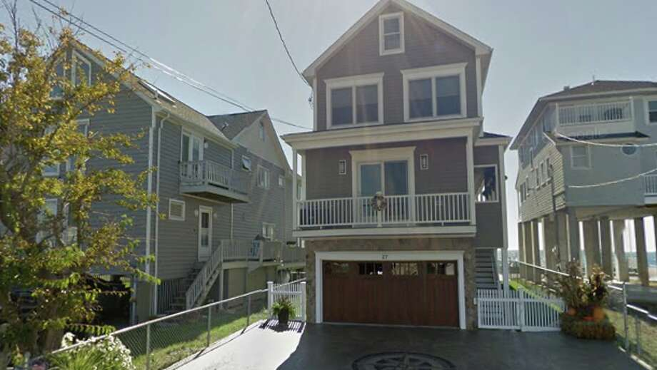 27 Point Beach Drive Runa Saeki and Sharon C. Brooks to David and Marisa T. Deluke  $1,010,000 Photo: Google Maps