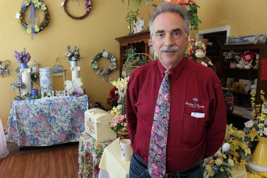 Owner John Tornatore's Gordon Bonetti Florist is one casualty of Hartford's unique property tax system, which leans more heavily on businesses than homeowners. Tornatore pulled up stakes for neighboring Wethersfield, where he says he's enjoying much lower tax bills. Photo: Gregory Seay / Hartford Business Journal / Hartford Business Journal