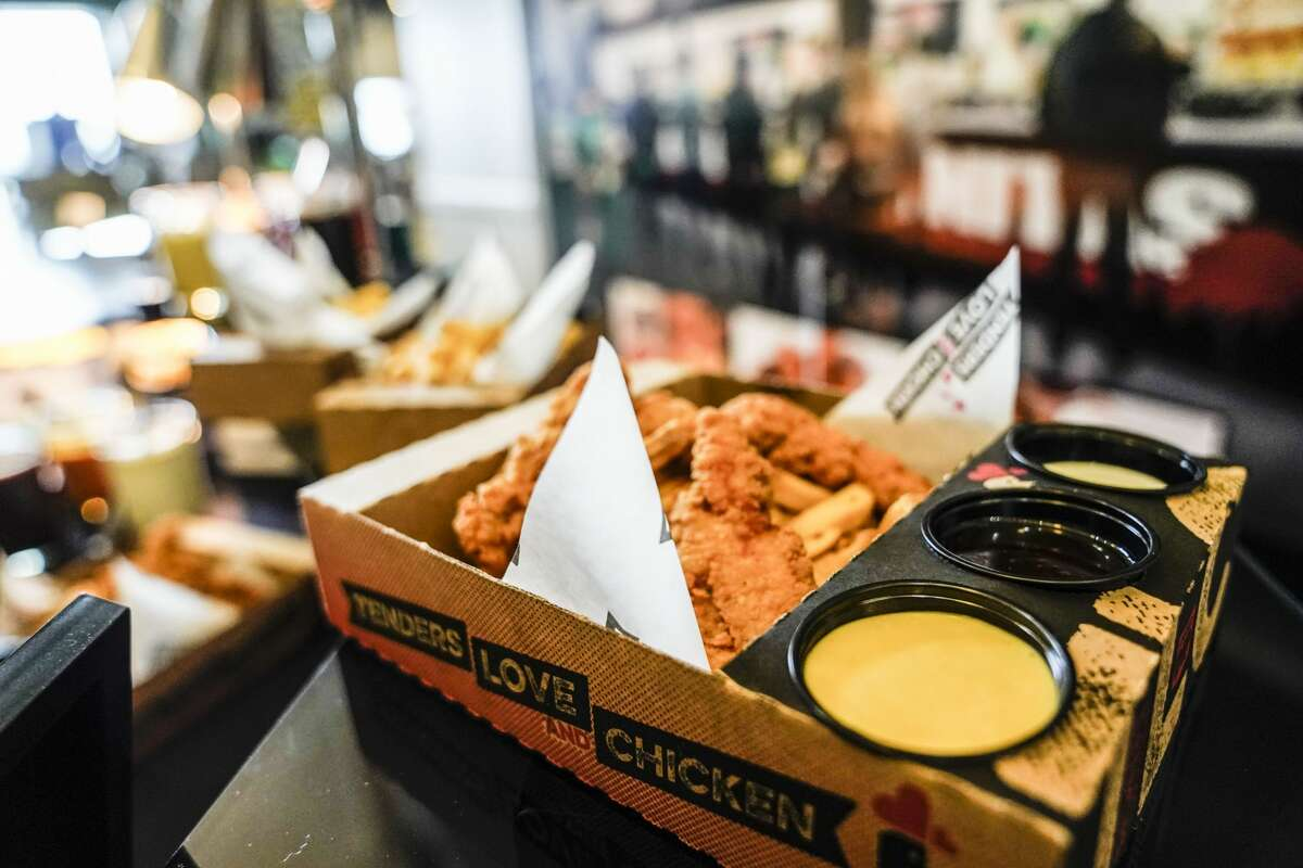 Tenders, Love and Chicken Tenders, Love and Chicken feature chicken strips with a wide variety of dipping sauces found at their sauce bar. Find them: Field Level (section: 116) and Plaza Level (section: 223)