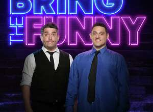 "The Stamford comedy duo known as ""The Chris & Paul Show,"" featuring Chris O'Neill and Paul Valenti, will be appearing on ""Bring the Funny,"" a new comedy competition show on NBC that premieres July 9."