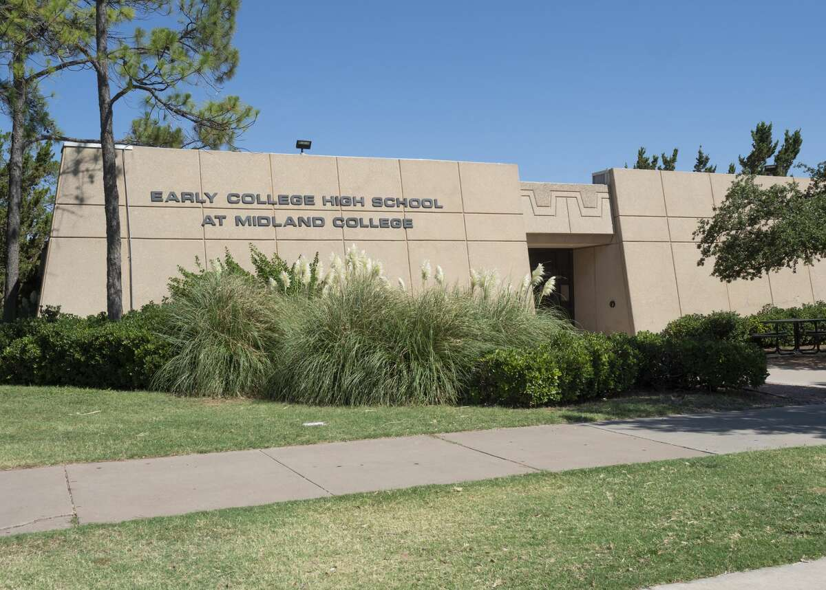 Early College High School at Midland College is ranked among the top high schools in Texas and is considered No. 1 in the Midland metropolitan area, according to U.S. News and World Report.