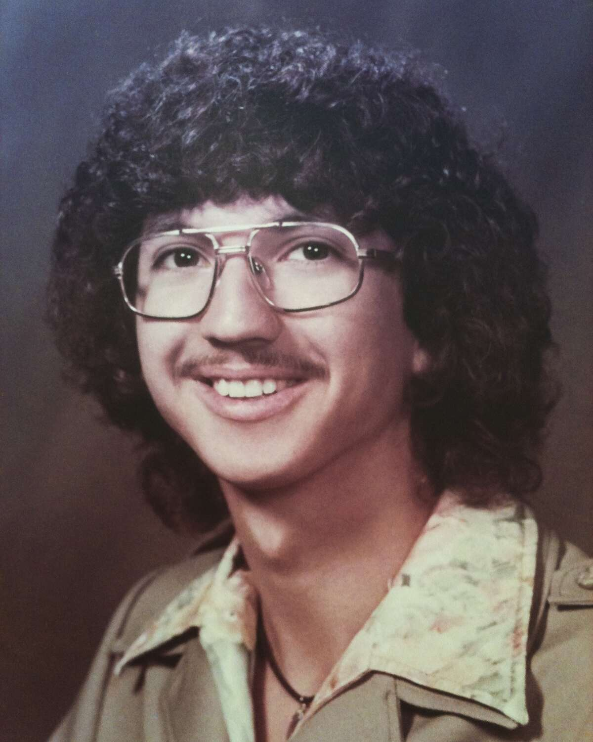 In high school and in college, I had hair like a rock star. That was my goal, at least.