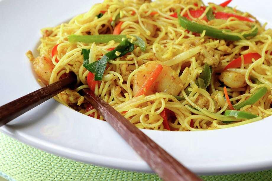 Singapore noodles Photo: Hillary Levin, MBR / TNS / St. Louis Post-Dispatch