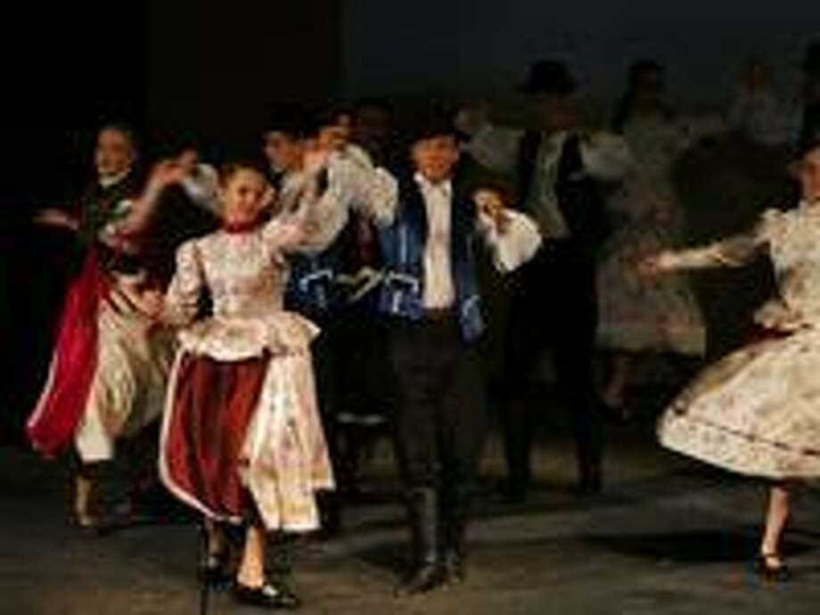 The Liget Dance Ensemble from Budapest, Hungary will perform traditional Hungarian and gypsy dances at Crystal Theatre in Norwalk July 17. Photo: Mariner Pezza / Www.crystaltheatre.org