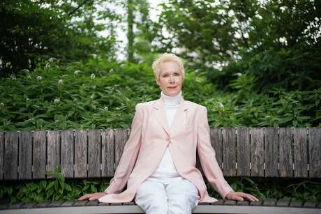"""E. Jean Carroll, the longtime advice columnist and author who has alleged that Donald Trump sexually assaulted her in 1996, in Manhattan, June 24, 2019. Carroll says coming forward now was part of the realization that she hadn't followed advice she'd given her readers for years: to speak up. """"I felt like a fraud,"""" she said. Trump has said Carroll is """"totally lying."""" (Todd Heisler/The New York Times)"""
