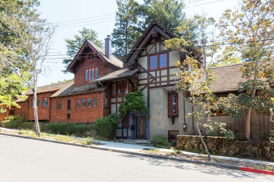 In the Berkeley Hills near the Rose Garden, a historic home designed by Bernard Maybeck is listed for  $4.45 million. Photo: Courtesy Grubb Co.