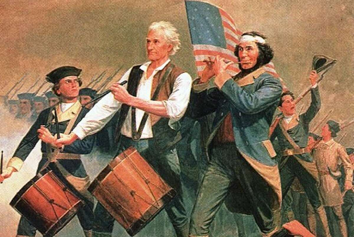 The Spirit of '76, by A.M. Willard, was originally titled Yankee Doodle. The tune was embraced by colonists during the American Revolution.