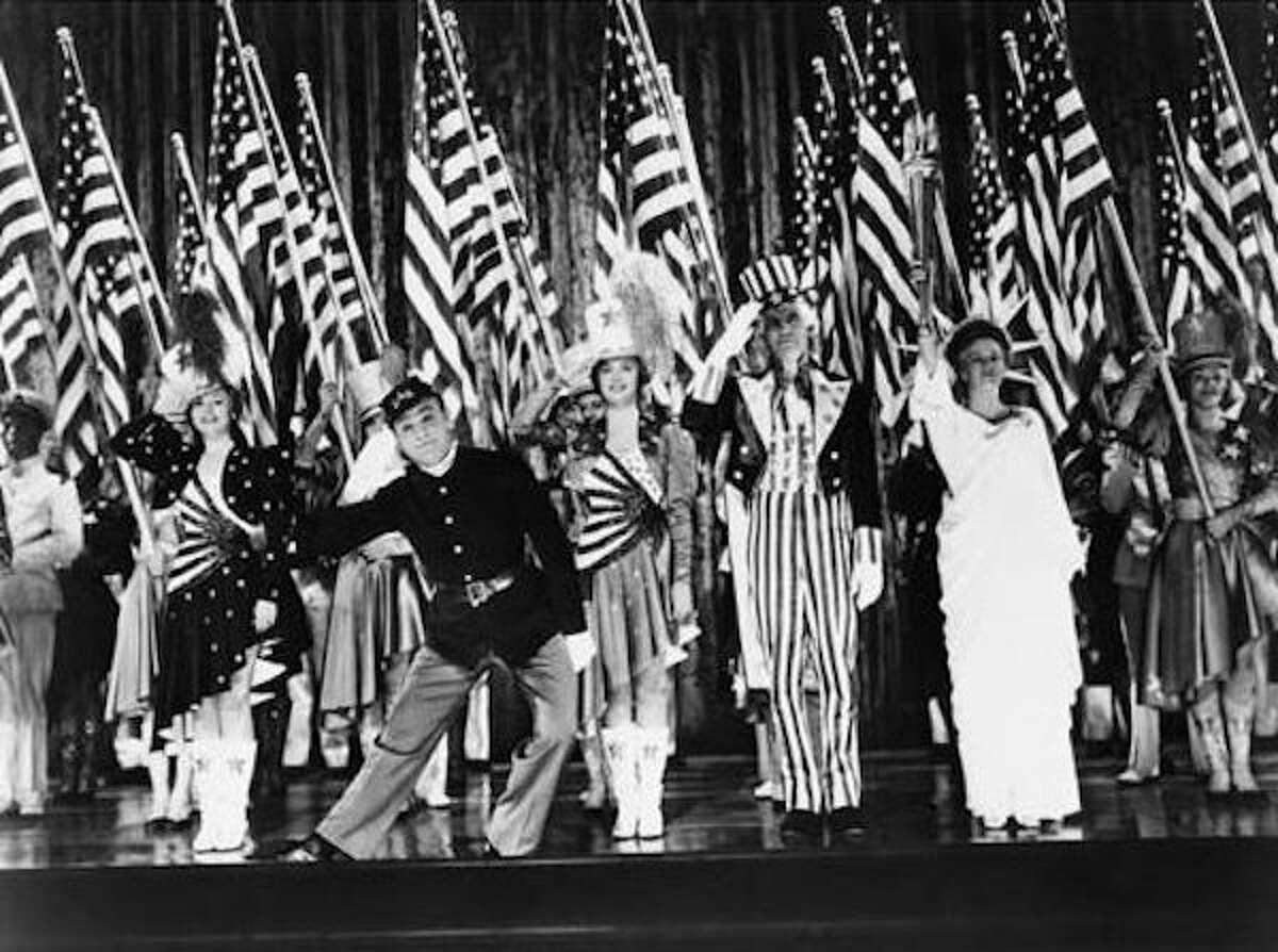 James Cagney starred in the movie, Yankee Doodle Dandy.