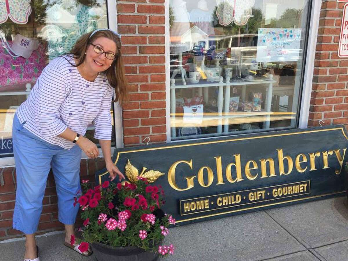 Debbie Hecht is planning to retire and will close her Wilton store Goldenberry Gifts & Gourmet at the end of the year. - Patricia Gay/Hearst Connecticut Media photo