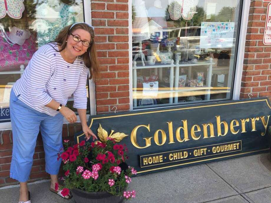Debbie Hecht is planning to retire and will close her Wilton store Goldenberry Gifts & Gourmet at the end of the year. — Patricia Gay/Hearst Connecticut Media photo