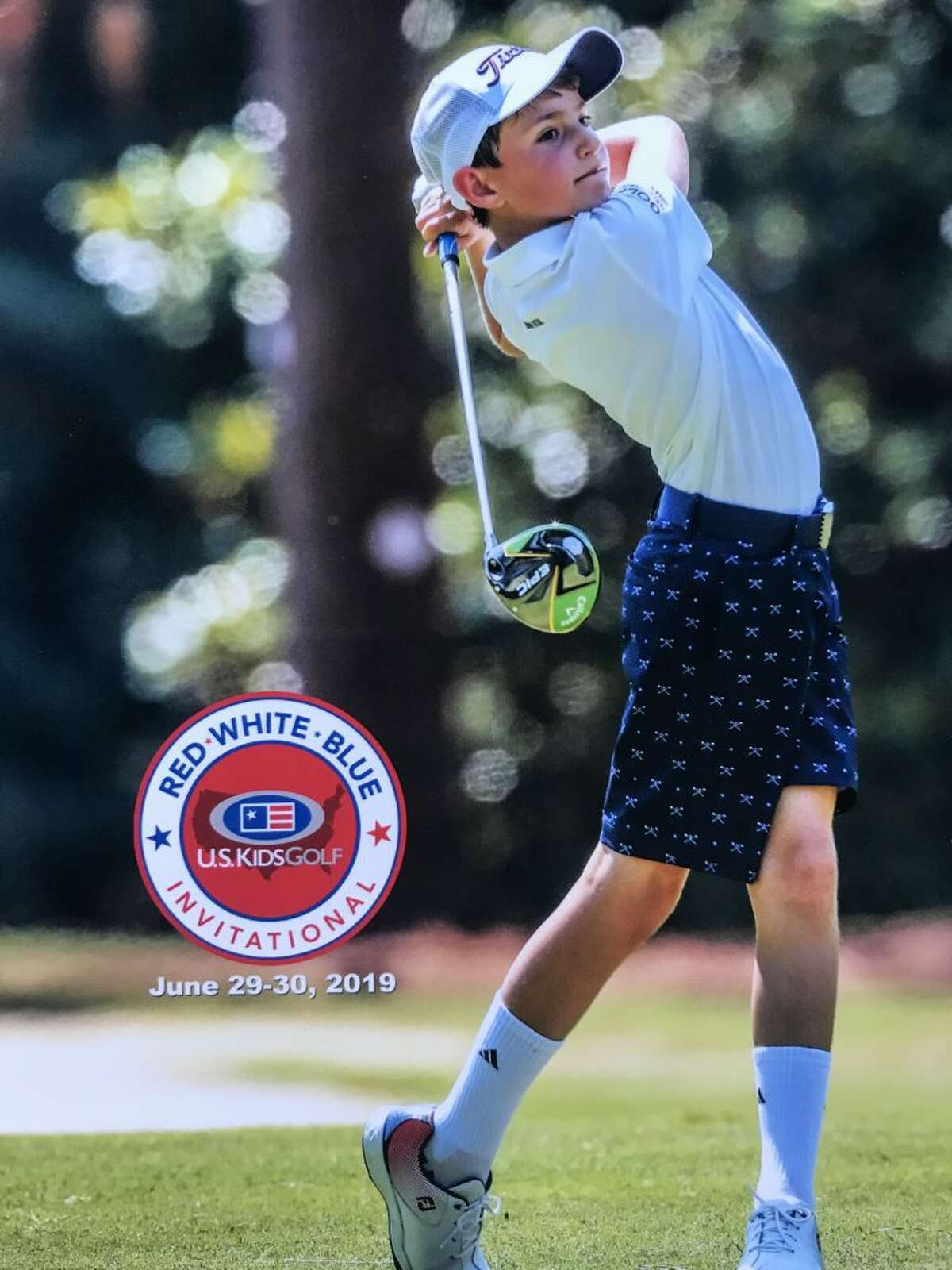 Asher Katz at the US Kids Red, White Blue Invitational last weekend.