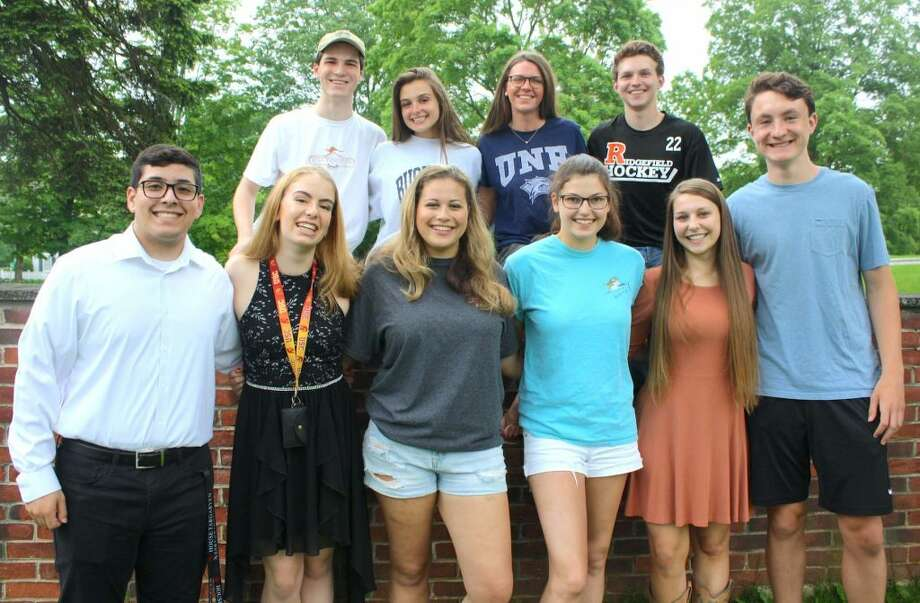 Prior to departing last Saturday on its annual mission trip, Jesse Lee Appalachia Service Project (ASP) honored 10 recent high school graduates who participated in the home-re-pair ministry during all four years of high school. Bottom row, from left: Pierce Savino, Eugenia Cashman, Danielle Butz, Olivia Anderson, Dackerie Bowes and Miles Tullo. Back row: Grant Yaun, Emily Parker, Bridget Kager and Jack Pereira. Learn more about the organization and its work in Appalachia at www.jesseleeasp.org.