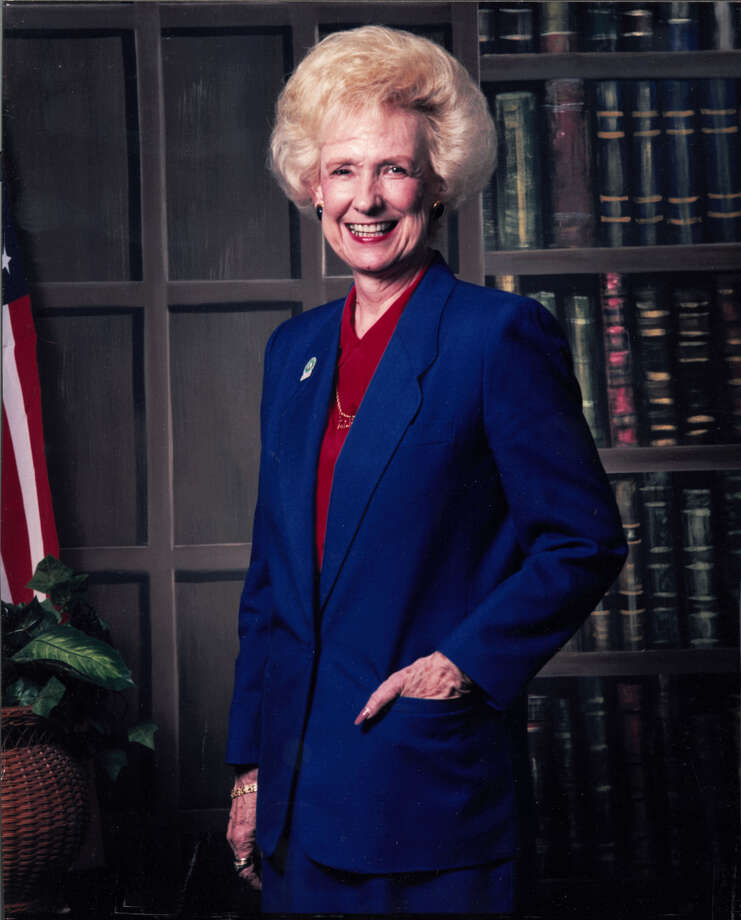 Patricia Riley, a former Pasadena City council member who regularly attended council meetings even after leaving the council, died on July 8, 2019 after she was struck by a truck. Photo: Houston Chronicle Archives, 2003