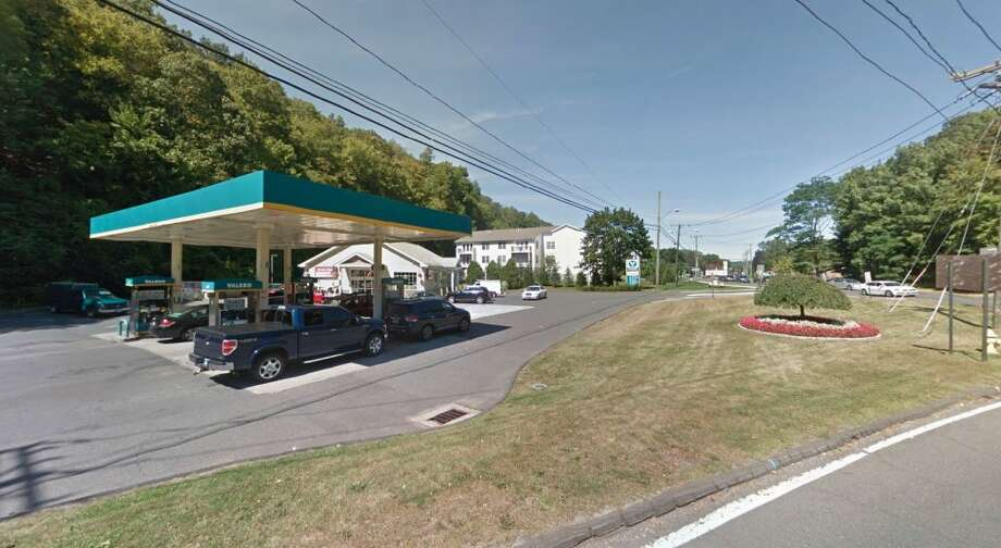 The Valero gas station on Danbury Road in Ridgefield.