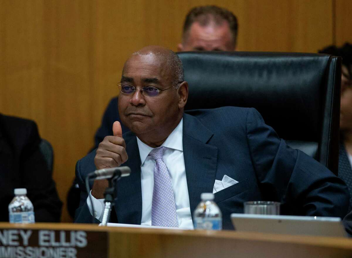 Precinct 1 commissioner Rodney Ellis during commissioner's court at the the Harris County Administration Building Tuesday, June 4, 2019, in Houston.