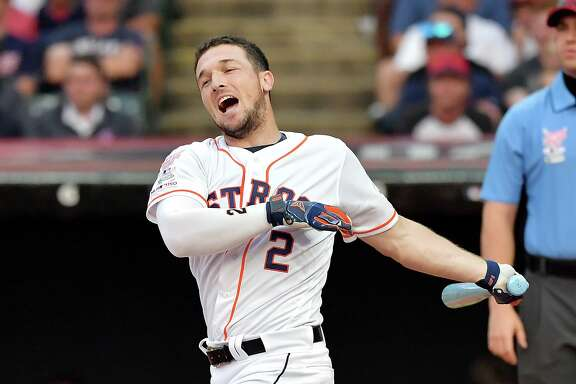 Alex Bregman hit 16 dingers in Monday night's first round of the Home Run Derby but was topped by the 21 of the Dodgers' Joc Pederson.