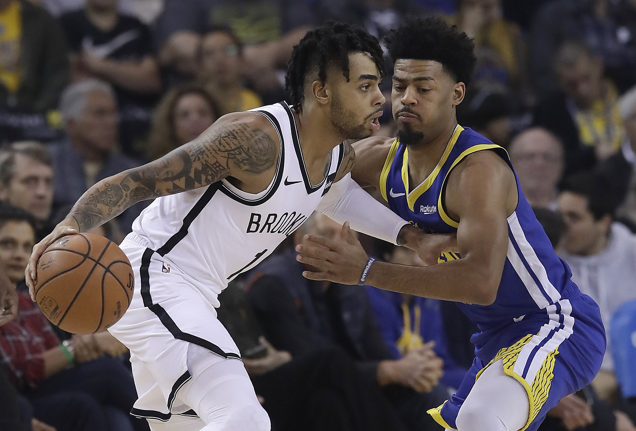 Get to know Warriors' eight newcomers, three of whom could start
