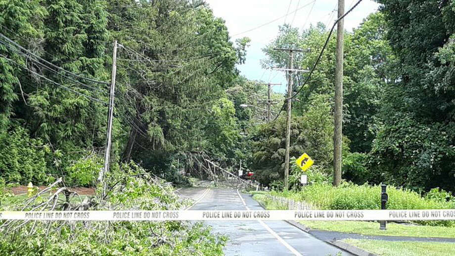 Twitter user WeatherNut27 got this image of Route 123 after storms went through the area Sunday, June 30.