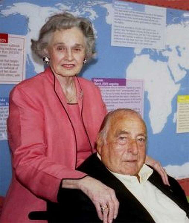Leila Macauley, who founded AmeriCares with her husband, Bob, in New Canaan 40 years ago, has died at the age of 97.