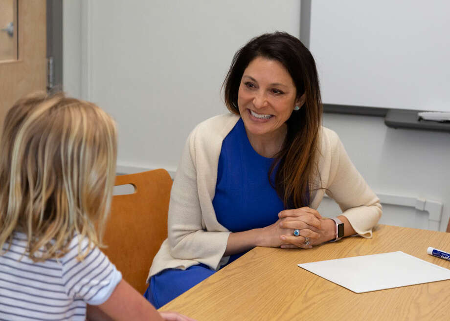 Rebecca Comizio of New Canaan Country School, has been named Connecticut School Psychologist of the Year by the Connecticut Association of School Psychologists. New Canaan Country School / Contributed photo / Connecticut Post