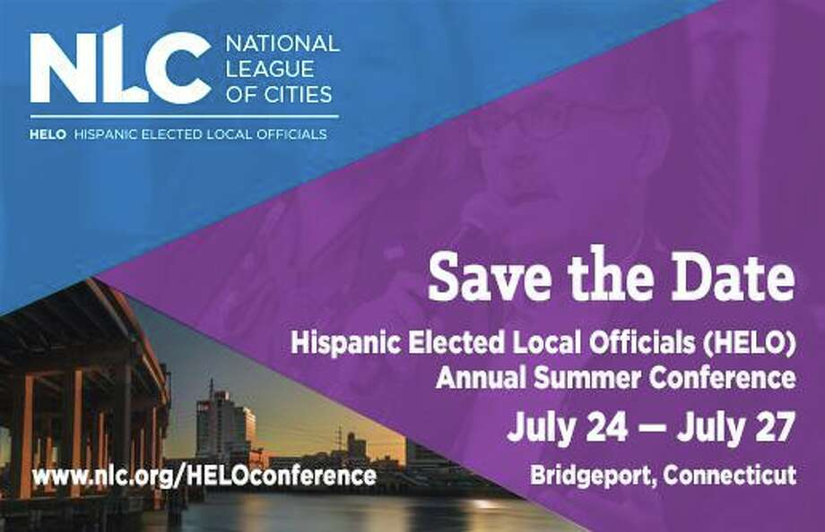 The city is hosting the National League of Cities' annual summer conference for Hispanic elected local officials. Photo: Courtesy Of The City Of Bridgeport Facebook Page