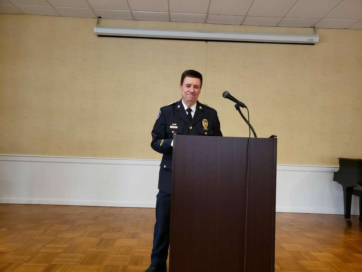 Darien Police Chief Ray Osborne - Sandra Diamond Fox photo