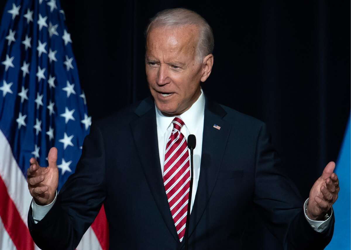 Joe Biden (D) The 47th vice president of the United States, Joe Biden, announced his bid for president in a video on Thursday, April 25, 2019. His message focused on President Trump's highly criticized response to the deadly 2017 Charlottesville white nationalist riots, saying that America is in a