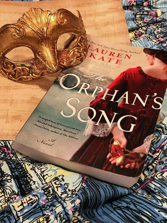 """The Orphan's Song"" by Lauren Kate was published on June 25. Photo: TinaMarie Craven / Hearst Connecticut Media"