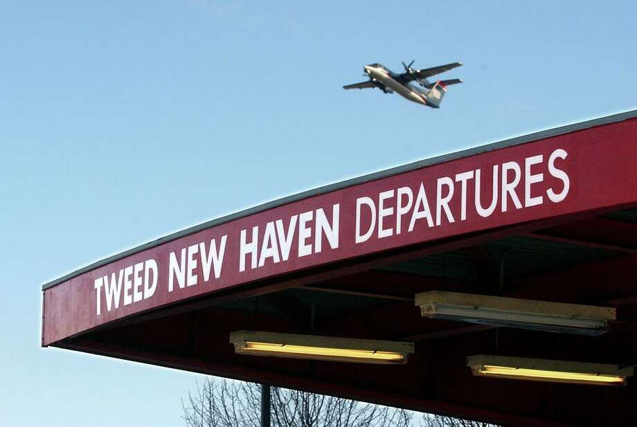 A flight takes off Tweed New Haven Airport Photo: Arnold Gold / Hearst Connecticut Media File