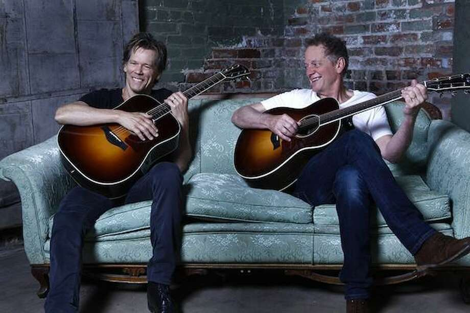 The Bacon Brothers, a popular band started by the award-winning actor Kevin Bacon, left, and his older brother Michael, an Emmy-winning composer, will perform in Greenwich on Nov. 9 at a fundraiser for Fairfield County's Inner-City Foundation for Charity & Education. Photo: Contributed Photo