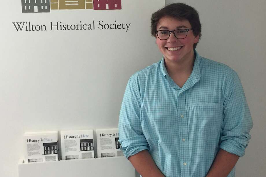 Anthony Calderone has received the Walter T. Smith Memorial Scholarship for his love of history. — Contributed photo
