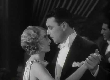 Barbara Stanwyck and George Brent in 'Baby Face'