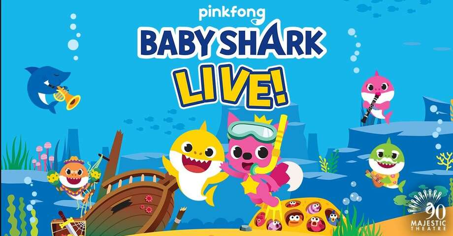 Baby Shark LIVE! jus announced that it is coming to the Majestic & Empire Theatre in San Antonio on Oct. 16. Photo: Facebook: Majestic & Empire Theares