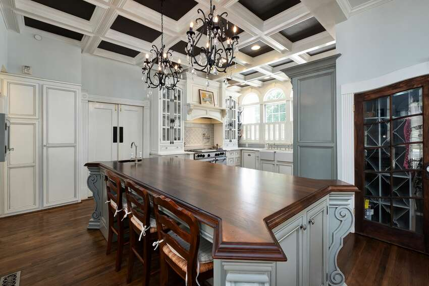 Kitchen at Twelve Oaks in Covington, Ga., the inspiration for Ashley Wilkes' plantation home in