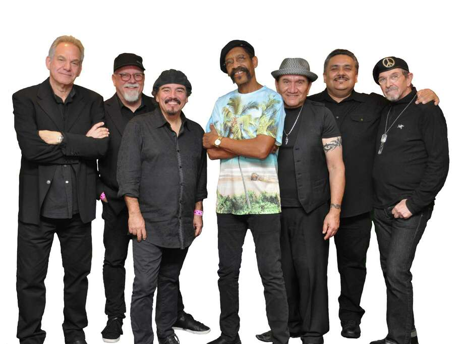 "The multi-platinum-selling band WAR will be performing at Stamford's Wednesday Nite Live on July 24. The concert will see founding member Leroy ""Lonnie"" Jordan backed by Stuart Ziff, Marcus J. Reyes, Scott Martin, Stanley ""The Baron"" Behrens, Rene Camacho and Sal Rodrigues. Photo: One In A Million Media / Contributed Photo"