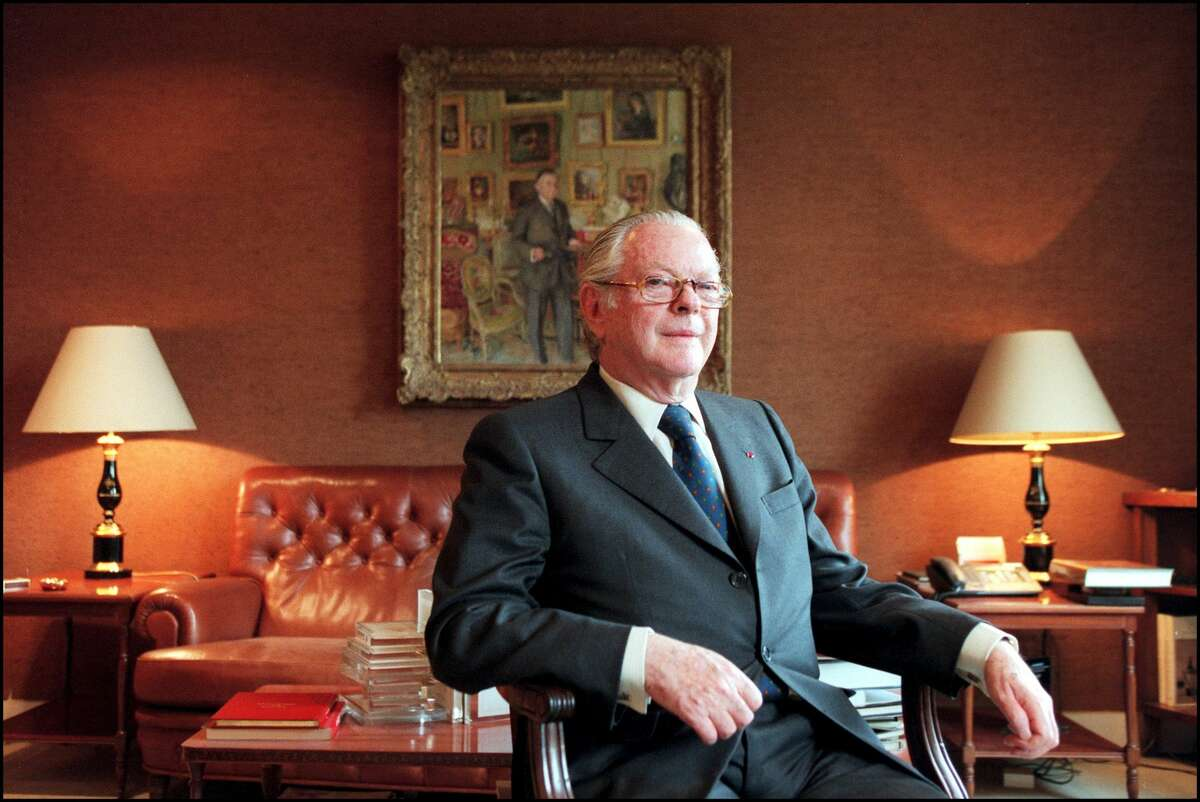 Michel David-Weill, chairman of Lazard, poses for a portrait in Paris on April 27, 2000.