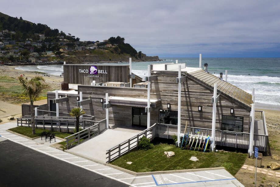 Pacifica's Taco Bell will reopen Saturday, July 13, 2019 as a Taco Bell Cantina where guests can enjoy a tapas style menu, local artwork and alcoholic beverages. Photo: Courtesy Of Taco Bell