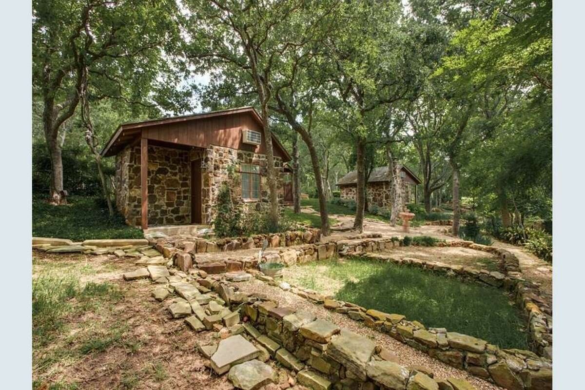 "Award-winning house builder and land developer Ken Hodge kept and refurbished cabins built by legendary Texas gangster Herbert ""The Cat"" Noble."