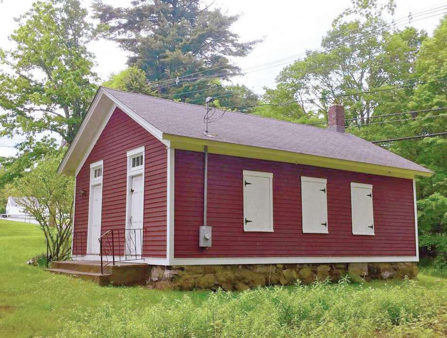 The New Fairfield Historical Society is inviting the public to an Open House at the Little Red Schoolhouse on Brush Hill Road July 14. Photo: New Fairfield Historical Society / Contributed Photo