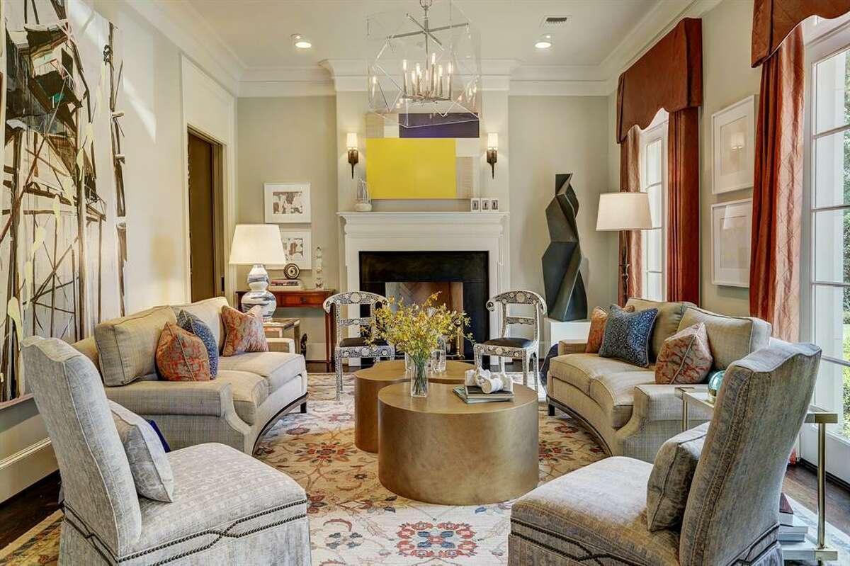 No. 5:Claremont LaneAverage home price: $5,916,360See this listing:2041 Claremont Lane, Houston7,910-square-feet / 5 bedrooms, 7 full, 2 half bathrooms / $4,998,000