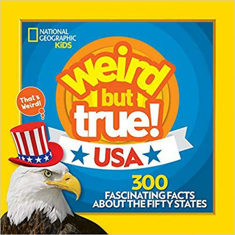 """""""Weird but True USA"""" contains 300 unusual facts about the states that make up the USA. For example, California scientists modeled a solar cell after a fly's eye and Jell-O is the official state snack of Utah. (Handout/TNS) Photo: Handout, HO / TNS / TNS"""