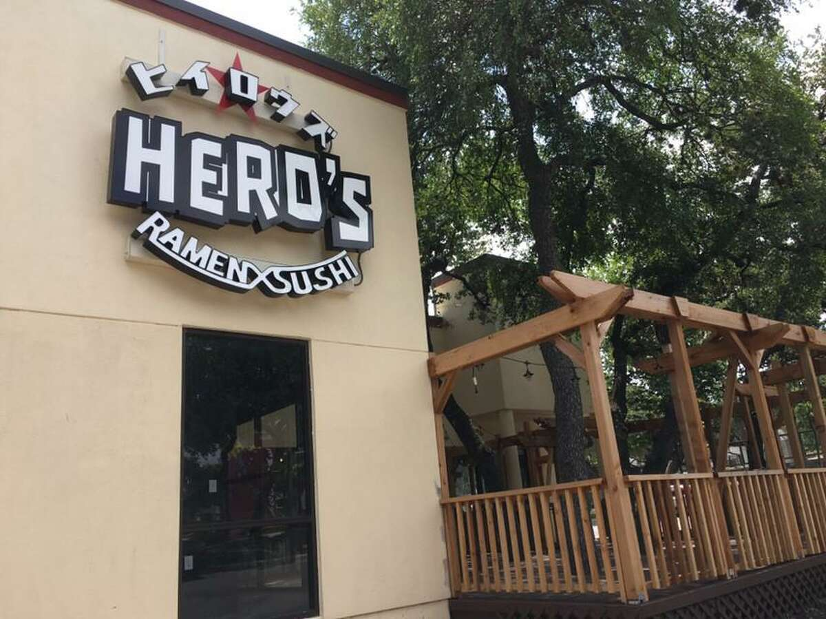 Hero's Ramen and Sushi is scheduled to open soon in Embassy Oaks at 13444 West Ave. The restaurant will feature sushi and izakaya-type dishes along with ramen.