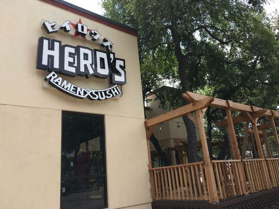 Hero's Ramen and Sushi is scheduled to open soon in Embassy Oaks at 13444 West Ave. The restaurant will feature sushi and izakaya-type dishes along with ramen. Photo: Chuck Blount / Staff