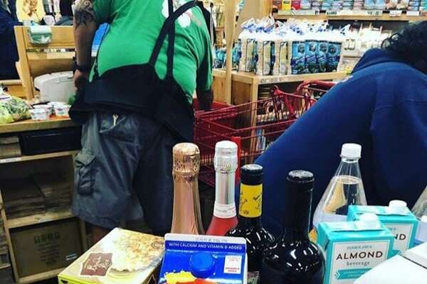 Trader Joe's employees get to partake in impromptu taste tests in the stores on occasion.