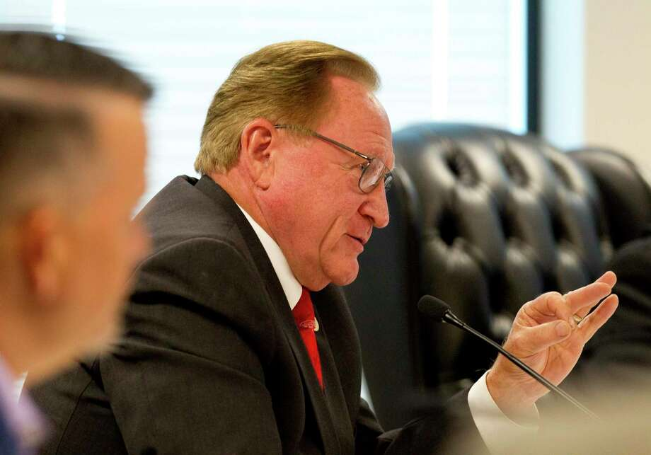 "As leaders worldwide continue to manage the spread of the new coronavirus, Montgomery County Judge Mark Keough said his approach has been ""measured"" to avoid panic or implementing strict orders to keep people home. Photo: Jason Fochtman, Houston Chronicle / Staff Photographer / Houston Chronicle"