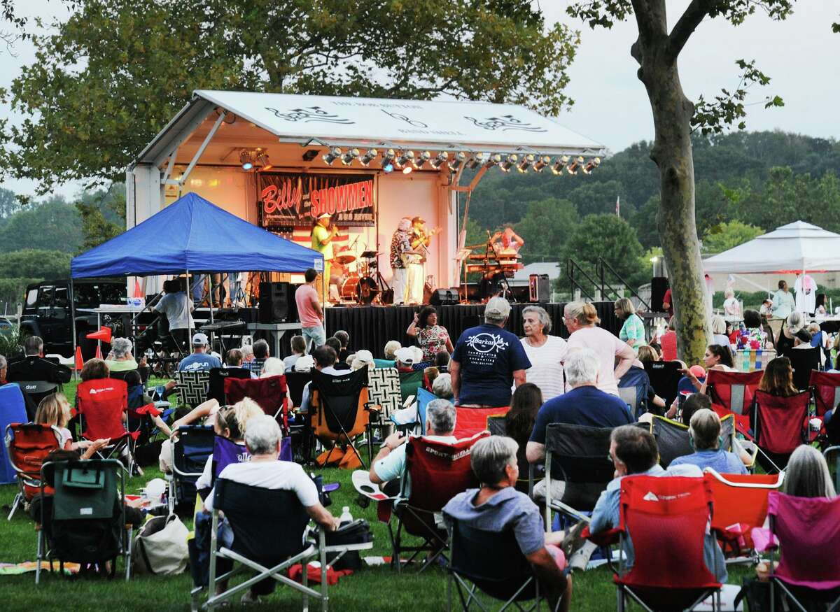The Department of Parks and Recreation hosts a Wednesday Night Concert series in Roger Sherman Baldwin Park. The 7 p.m. concerts continue with the LPs, who will play the best of the '70s and '80s on Aug. 14; and Billy and the Showmen will play R&B on Aug. 21. Enjoy a picnic dinner while listening to music under the stars.