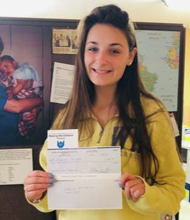 Alessandra Prontelli will attend the University of Tampa. Photo: Courtesy Of Healing The Children Northeast / The News-Times Contributed
