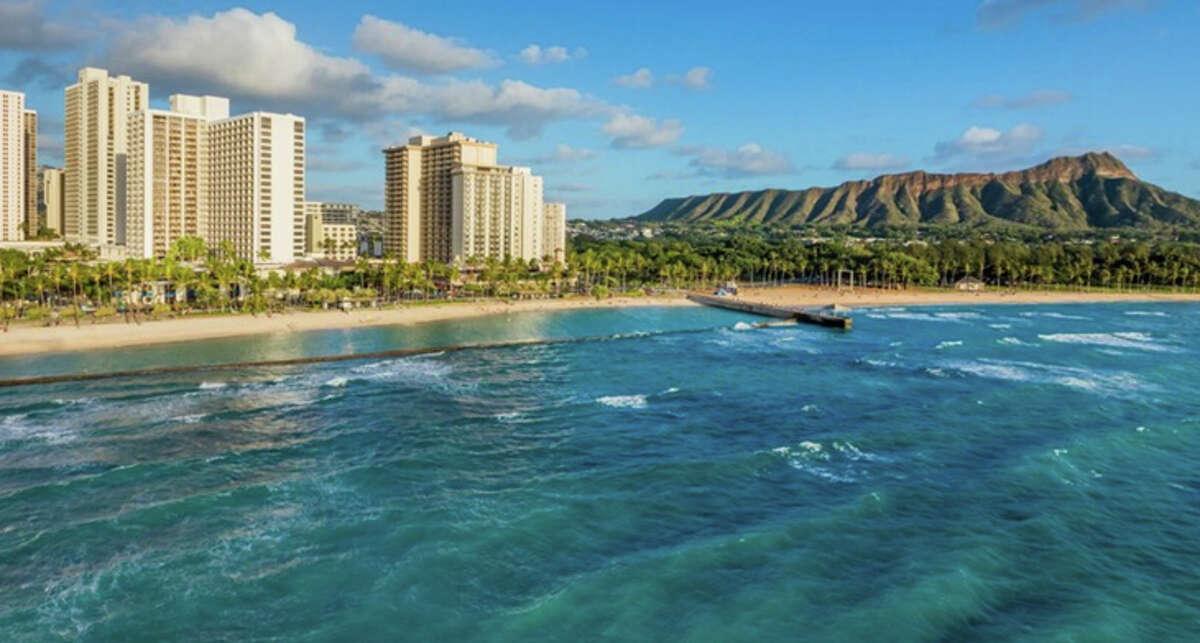 The resortfeechecker.com website cites a resort fee of $38.74 a day at the Waikiki Beach Marriott Resort.